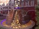 Londra accende la magia del Natale (ANSA)