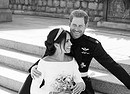 Official royal wedding photograph of Duke and Duchess of Sussex (ANSA)