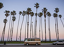 Van Life a Santa Barbara in California. foto iStock. (ANSA)