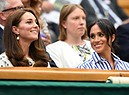 Catherine, Kate, duchessa di Cambridge e Meghan duchessa di Sussex (ANSA)