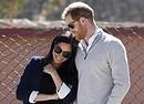 Il principe Harry e Meghan duchessa di Sussex in una foto scattata il 24 febbraio 2019 in Marocco (ANSA)