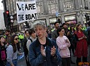 Climate Change protests across London (ANSA)