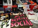 Kickit, il market dedicato allo streetwear e alle sneakers. Roma 5 maggio - Atlantico (ANSA)