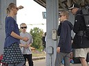 Climate Flying Less: l'avvocatessa svedese Pia Bjorstrand con la famiglia viaggiano in treno, Sono parte del piccolo movimento europeo del no-fly, la rinuncia all'aereo per evitare emissioni (ANSA)