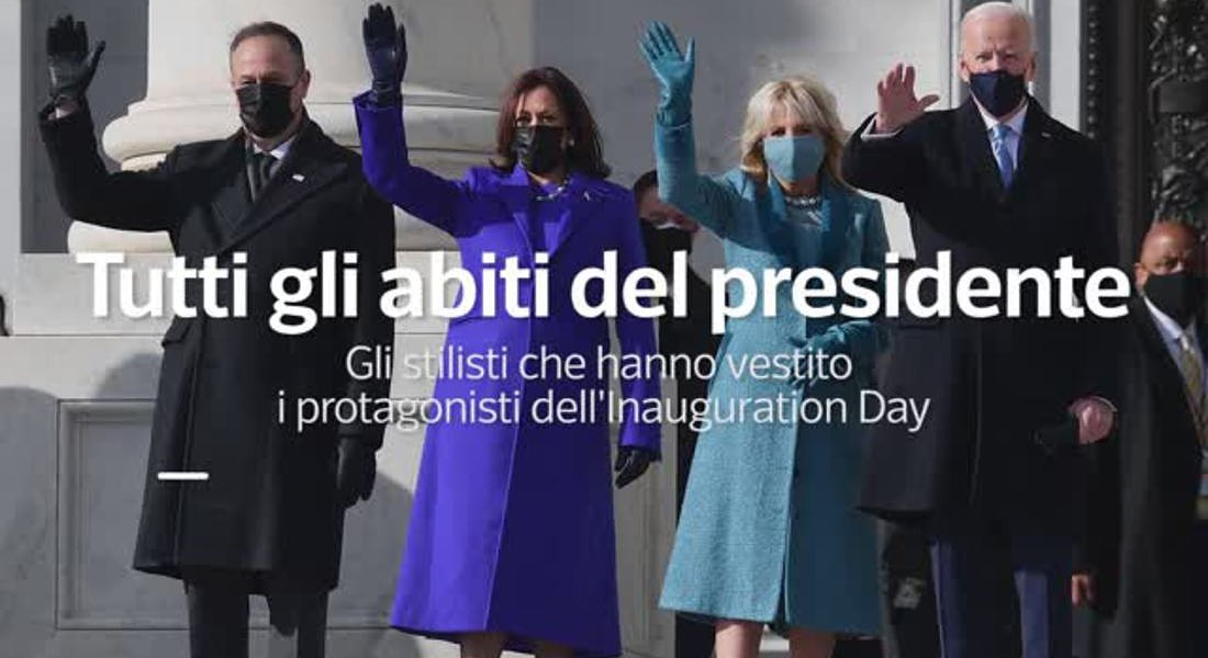 I look del giuramento: dalla first lady a Michelle Obama © ANSA