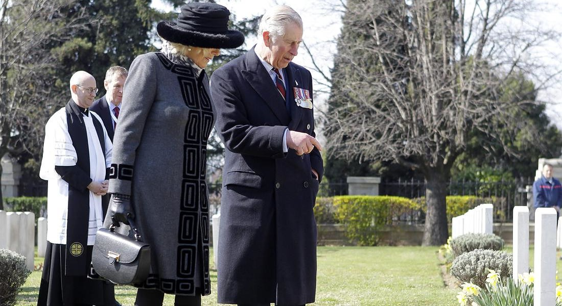 Britain's Prince Charles and Camilla visit to Serbia © EPA