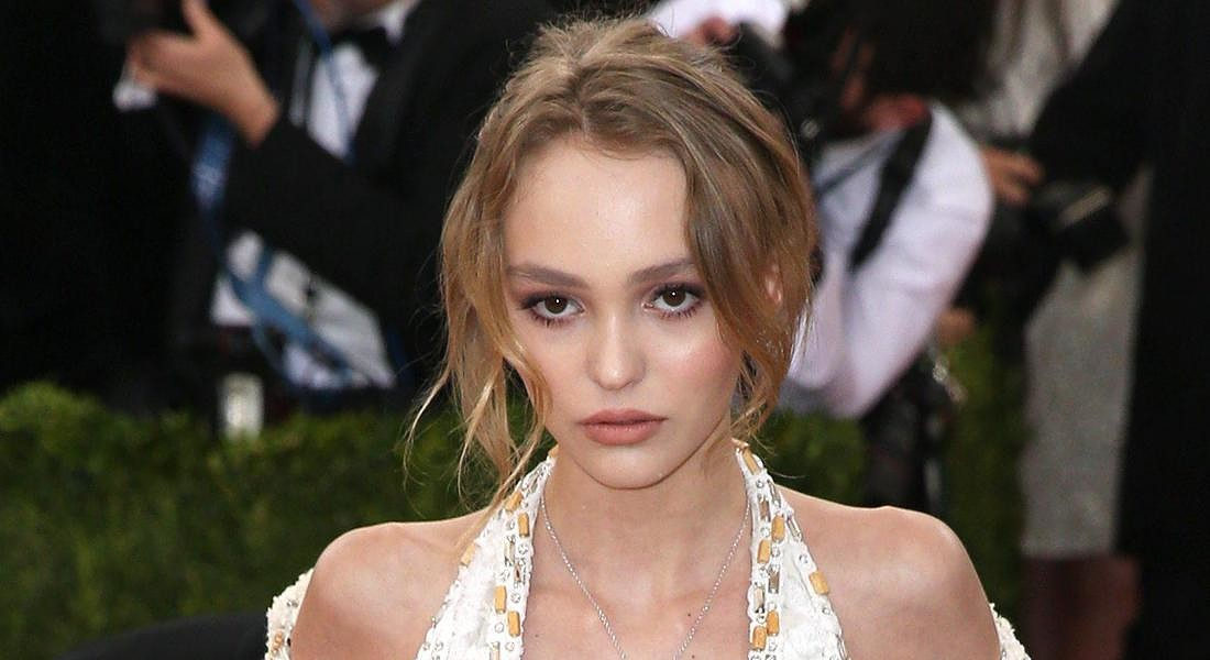Lily-Rose Melody Depp al gala 2016 Anna Wintour Costume Institute Gala Benefit © ANSA