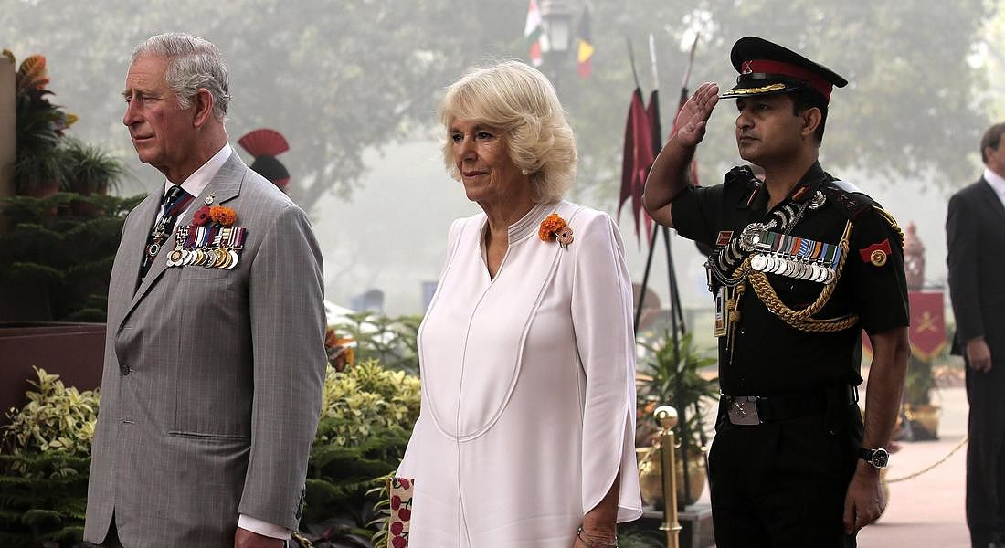 Prince of Wales and Duchess of Cornwall visit New Delhi © EPA