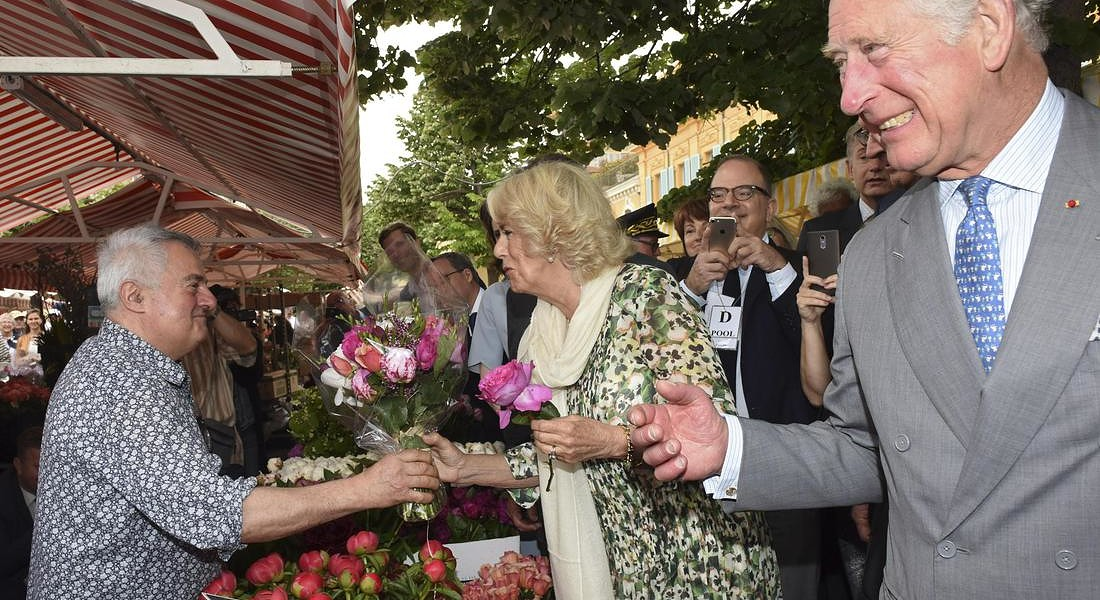 British royal couple visits France © EPA