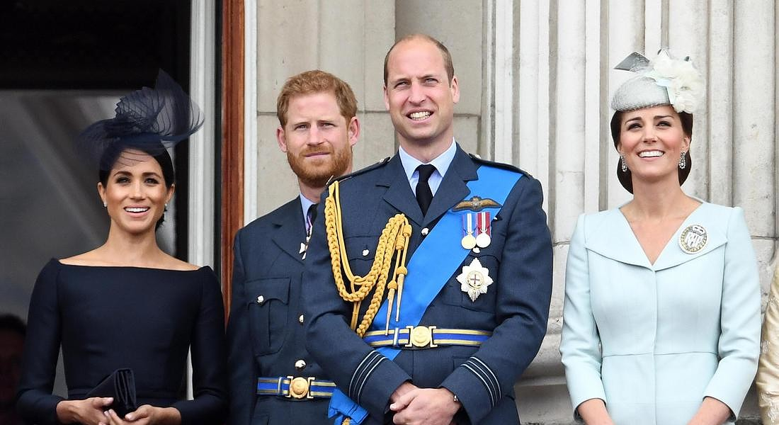 HARRY E WILLIAM NON VANNO D'ACCORDO, 'STRADE DIVERSE' © EPA