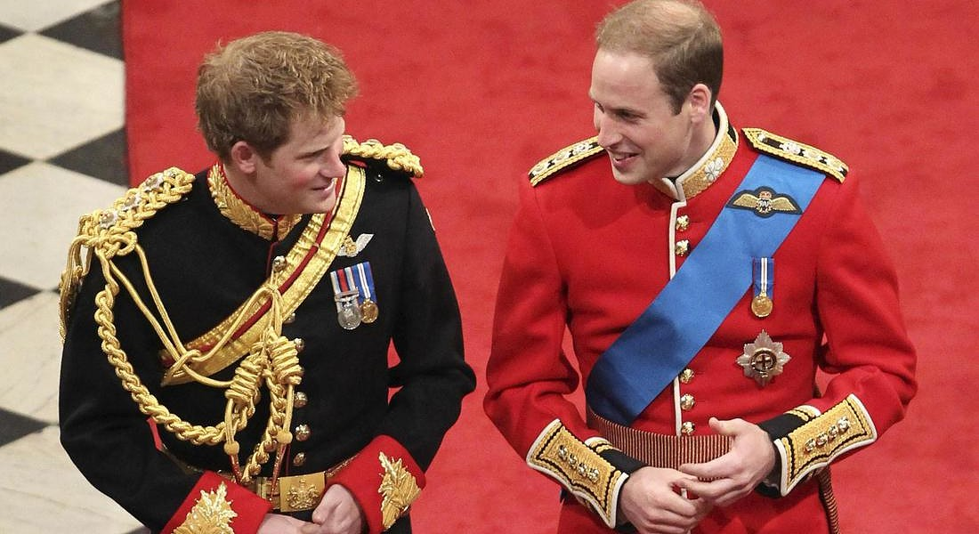 HARRY E WILLIAM NON VANNO D'ACCORDO, 'STRADE DIVERSE' © AP