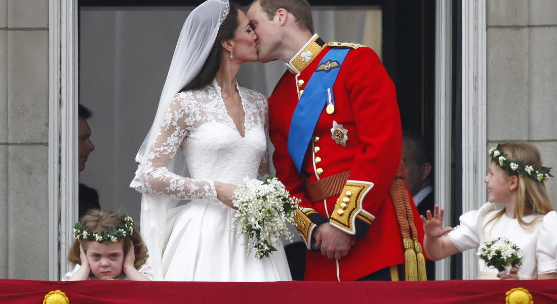 Royal wedding of Prince William and Catherine, Duchess of Cambridge © EPA