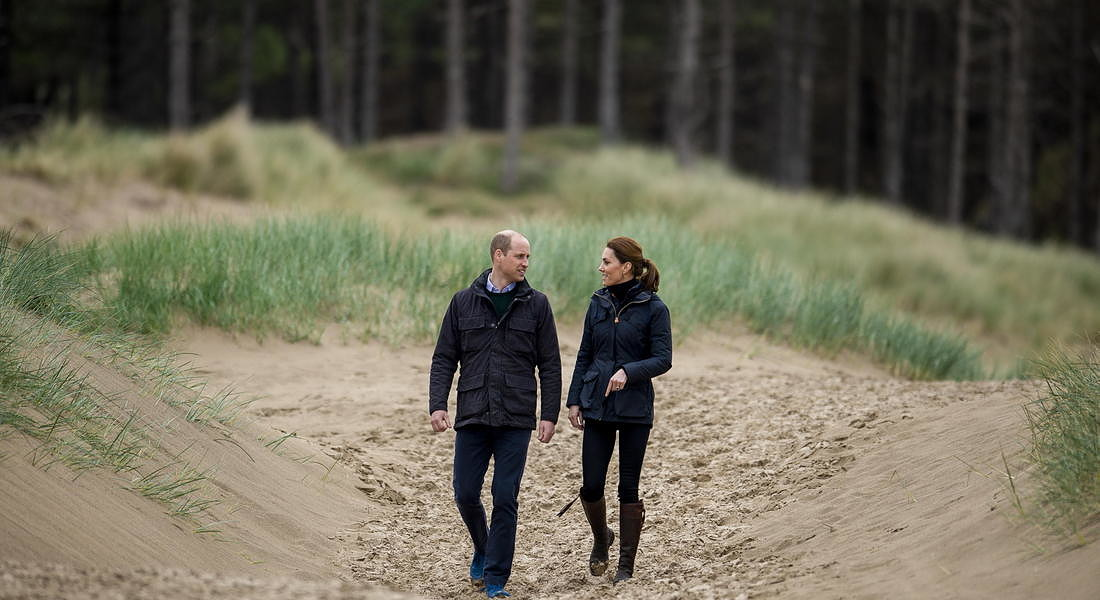 Duke and Duchess of Cambridge announce environmental initiative © EPA