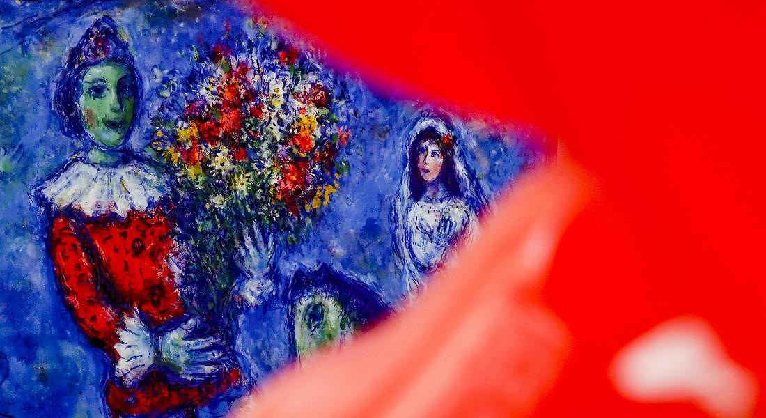 Preview of the exhibition 'Chagall. Dream of love' in Naples © ANSA