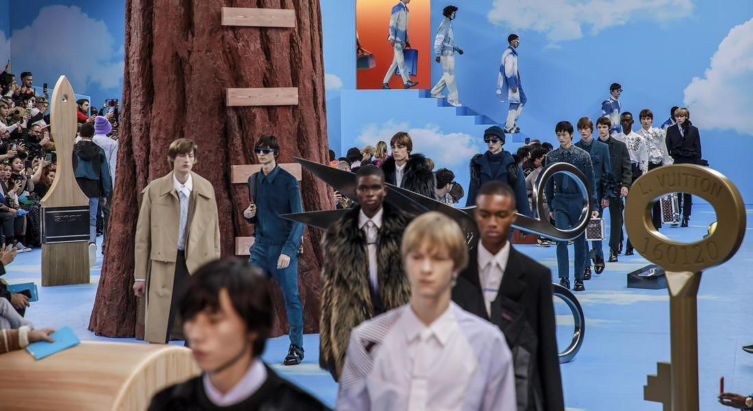 Louis Vuitton - Runway - Paris Men's Fashion Week F/W 2020/21 © EPA