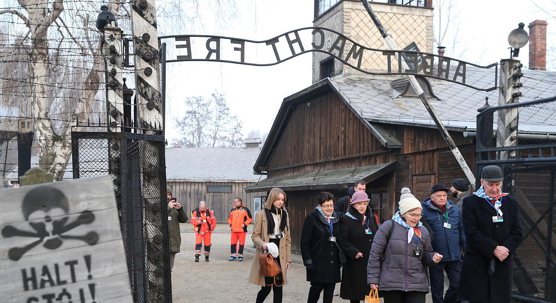 75th anniversary of the liberation of the former Nazi-German concentration and extermination camp KL Auschwitz-Birkenau © EPA