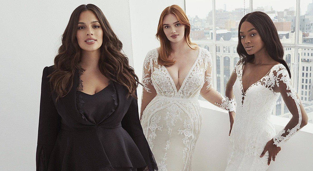 """Ashley Graham x Pronovias"" © Ansa"