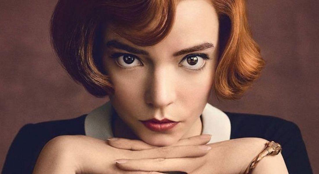 La regina degli scacchi: Anya Taylor-Joy (fonte Netflix) © Ansa