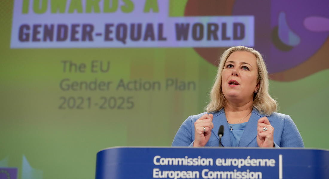 Press Conference on EU Action Plan on Gender Equality and Women Empowerment in external relations © EPA