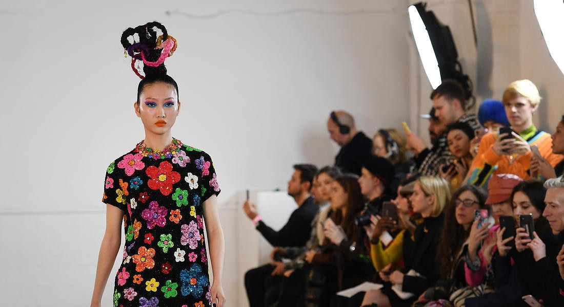 Ashish - Runway - London Fashion Week Autumn Winter collections © EPA