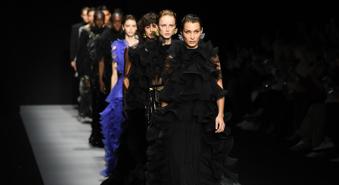 Italy Fashion: F/W 20/21 Women's collections; Alberta Ferretti © ANSA