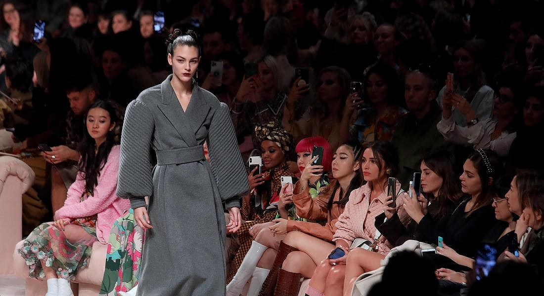Italy Fashion:Fall-Winter 20/21 Women's collections; Fendi © ANSA