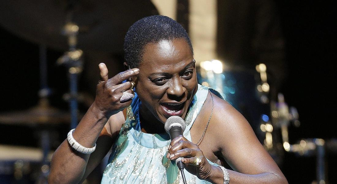 US soul and funk singer Sharon Jones © ANSA