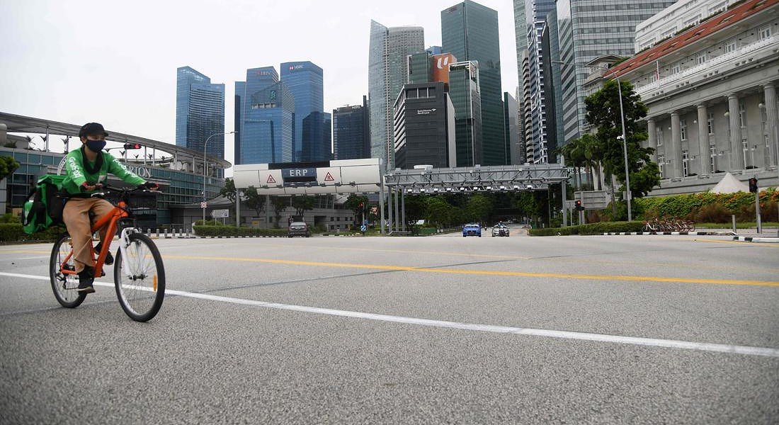 SINGAPORE-TRANSPORT © AFP