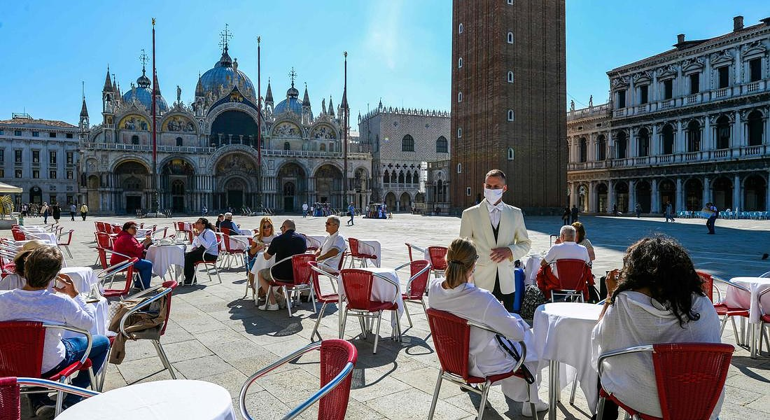 ITALY-HEALTH-VIRUS-LIFESTYLE-TOURISM-VENICE © AFP