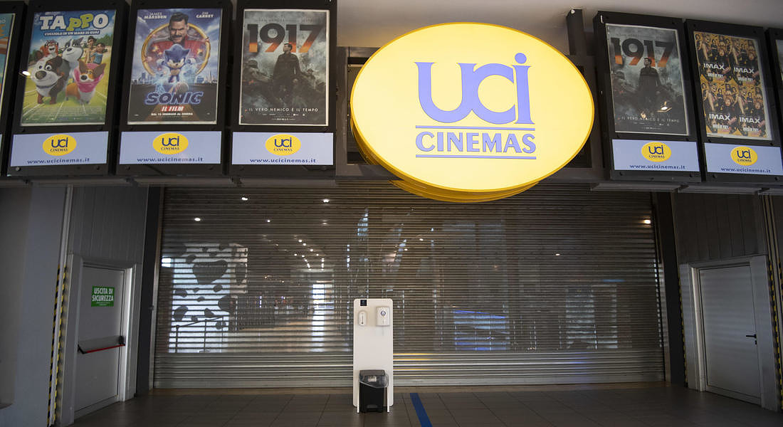 Coronavirus in Italy, cinemas reopen in Rome © ANSA
