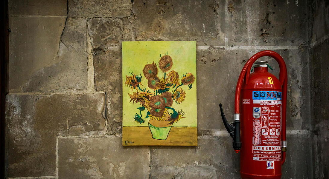 In the footsteps of Vincent Van Gogh in Auvers sur Oise © EPA