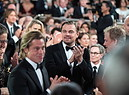 Ceremony - 77th Golden Globe Awards: Leonardo DiCaprio e Brad Pitt (ANSA)