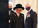 Prince Charles And Camilla visit Berlin To Attend National Mourning Day Events (ANSA)