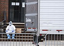 New York Coronavirus  Brooklyn Hospital Mobile Morgue (ANSA)