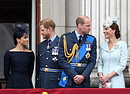 HARRY E MEGHAN GELOSI DI WILLIAM E KATE, I VELENI IN UN LIBRO (ANSA)