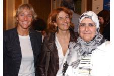Botteri, Maggioni e l'ambasciatrice del Kuwait