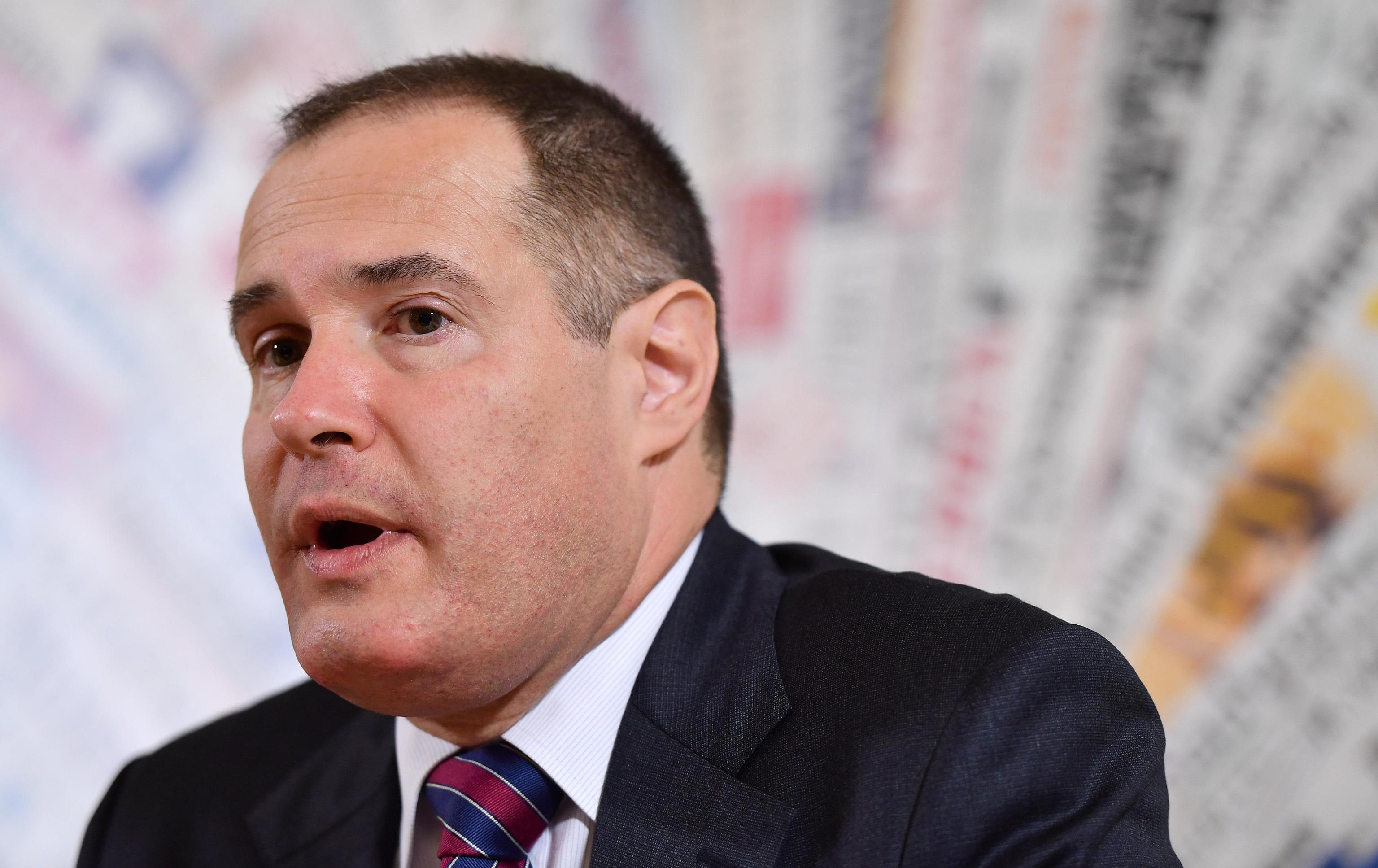 Fabrice Leggeri, French Director of Frontex