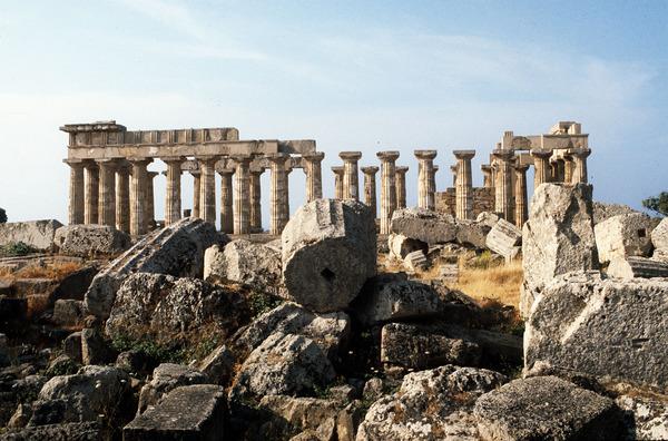 Selinunte, spettacoli classici tra i templi