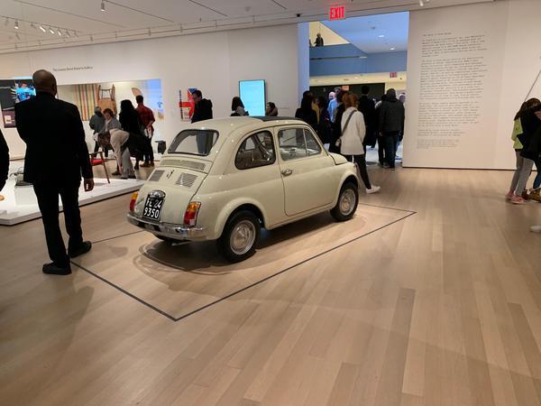 La 500 entra al MoMa, design democratico