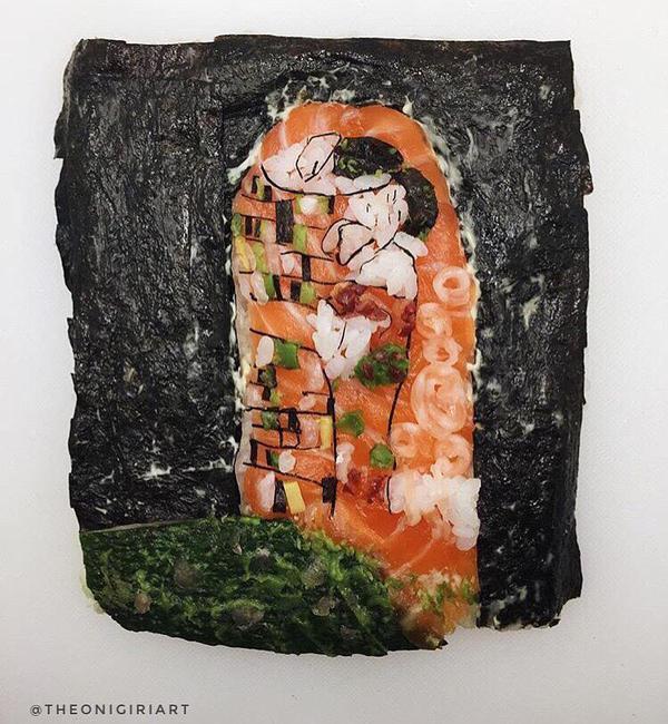 The Onigiri Art, il sushi diventa opera d'arte