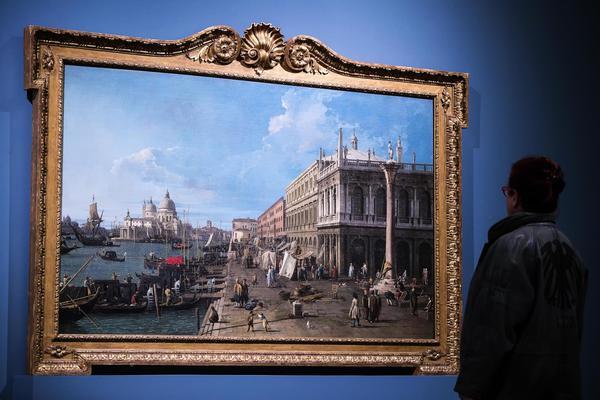 Canaletto & Venezia, trionfo del colore