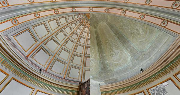 Consolata Torino, restaurati affreschi