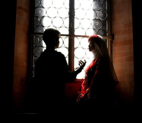 San Valentino, amori irraggiungibili nel castello