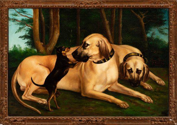 New York, al museo del cane in compagnia del direttore