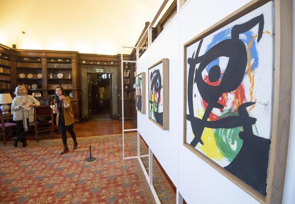 Universo Miró, il segno e la materia