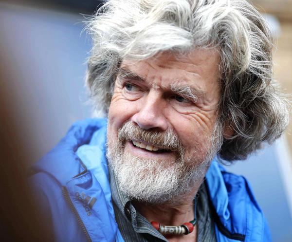 Messner e confini alpinismo a Courmayeur