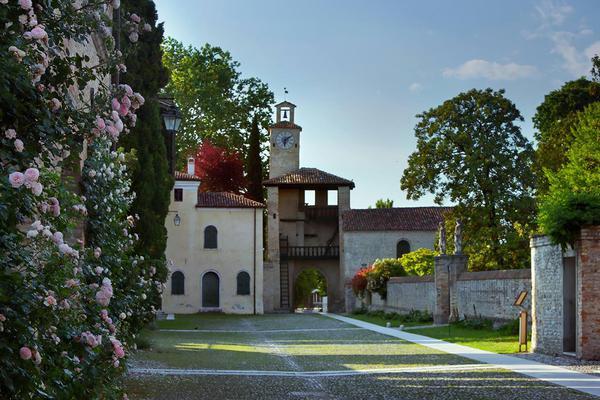 Castello Cordovado, il labirinto di rose