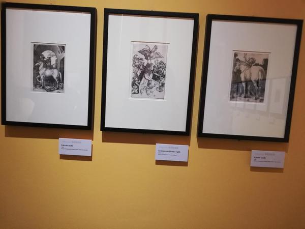 Inediti bulini di Dürer a Genova
