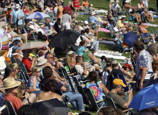 A Woodstock, 50 anni dopo concerto