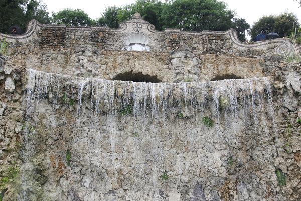 Torna l'acqua in fontane rampe del Poggi